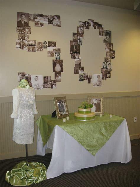 Mom and Dad's 50th Wedding Anniversary  Wear mom's dress