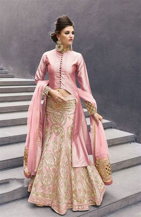 Buy Onion color georgette party wear lehenga choli 2 in 1