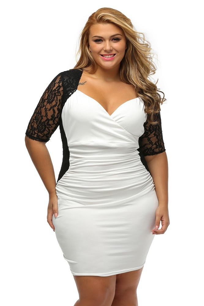 Usa rome ruched bodycon dress plus size near