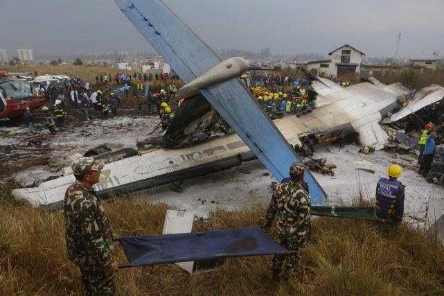 Les autorités aériennes du Népal ont indiqué avoir... (THE ASSOCIATED PRESS)