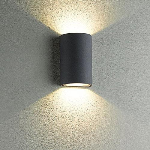 Luminturs 6w Led Cob Outdoor Wall Sconces Up Down