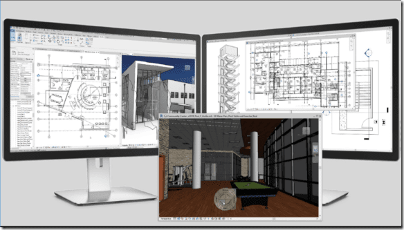 Revit 2019 on multiple monitors