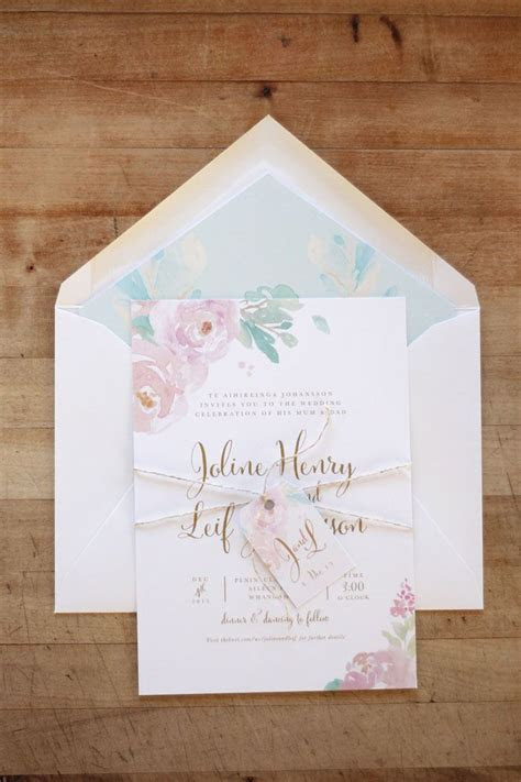 Just My Type Wedding Invitation & Wedding Stationery