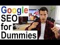 Google SEO for Dummies