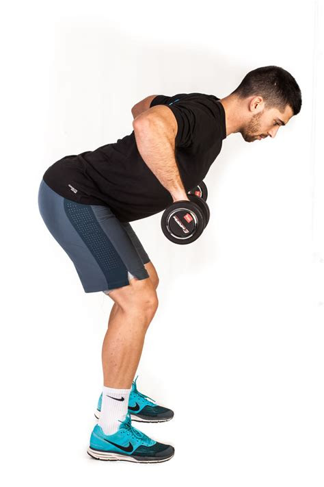 bent   dumbbell row pronated grip total workout