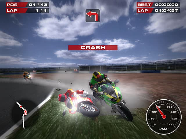 Super Bikes Free PC Game Screenshot