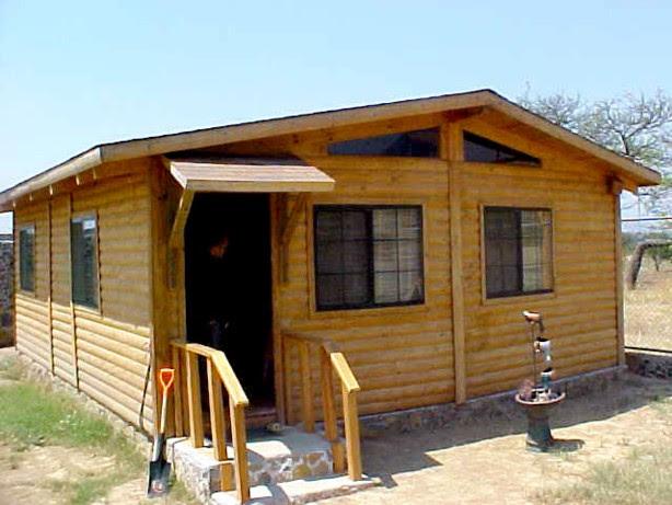 Casas de madera prefabricadas construccion de cabanas de madera en mexico - Casa ecologicas prefabricadas ...