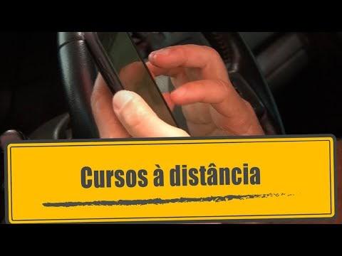 PROGRAMA PÉ NA ESTRADA: Cursos à distância