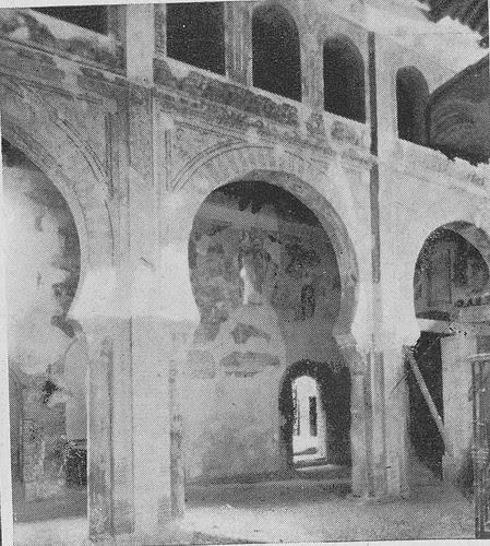 Iglesia de San Román a mediados del siglo XX