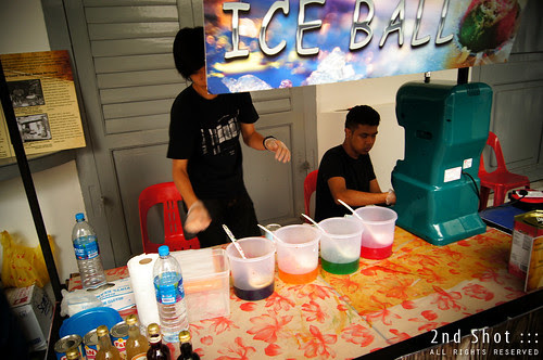 Ice Ball Booth