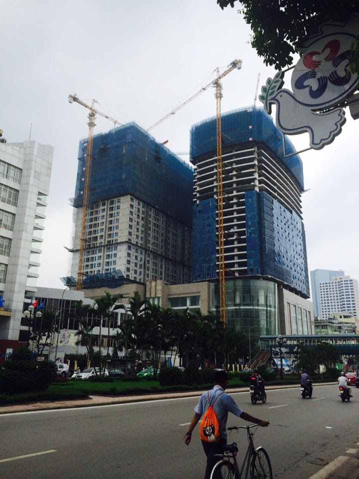 Tiến độ xây dựng Vinhomes Nguyễn Chí Thanh