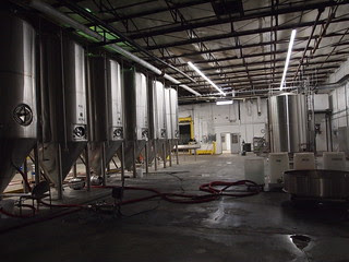 Peabody Heights' brewhouse & tanks