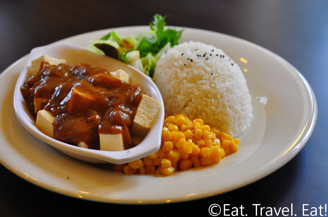 Cha For Tea, Irvine, CA- Tofu Curry With Rice