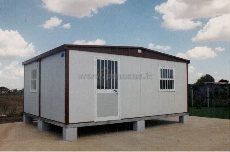 Miniescavatore moduli abitativi prefabbricati usati for Case uso ufficio