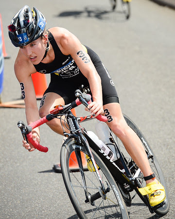 Lisa Sieburger - 2015 Mooloolaba ITU Triathlon World Cup Women - 2015 Mooloolaba Triathlon Multi Sport Festival, Sunshine Coast, Qld, AUS; Saturday 14 March 2015. Photos by Des Thureson - http://disci.smugmug.com. Camera 1.