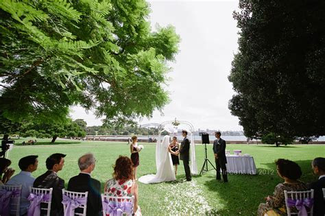 Royal Botanic Gardens Wedding Lawn 34   Civil Garden