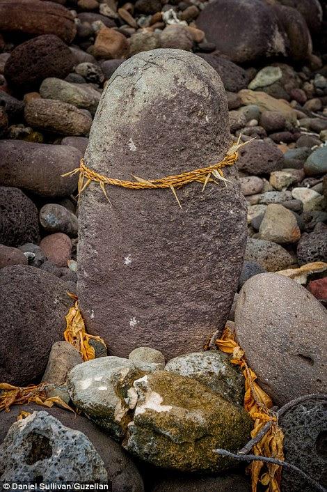 The fishing stone shrine in Kanio