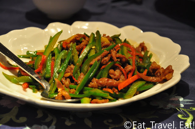 Pork and Bell Pepper Stir Fry- Peking Garden, Pacific Place