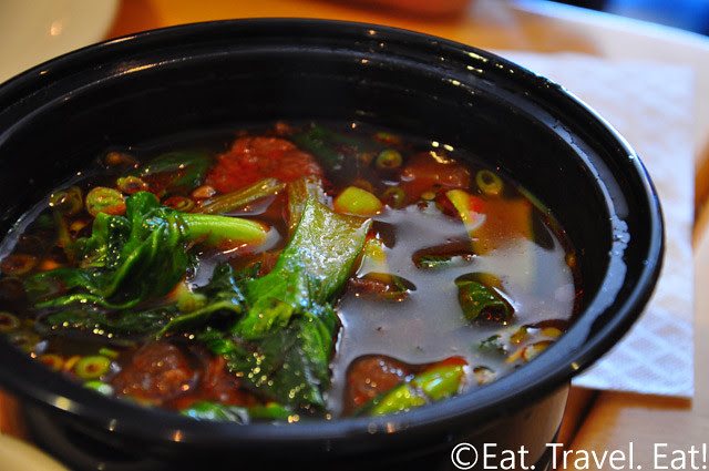 Easy Earthen, Rowland Heights, CA: Beef Noodle Soup