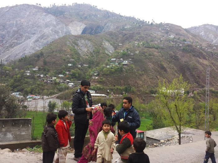 Immunizations in Pakistan