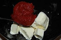 Kanape-uri rusesti cu hering marinat - Pas 3