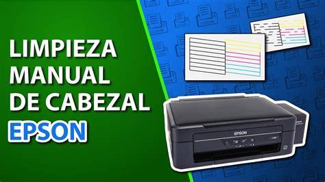 como destapar inyector de impresora epson limpiar