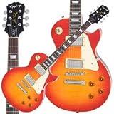 Epiphone Les Paul Standard Plaintop Heritage Cherry Sunburst Chrome Hardware