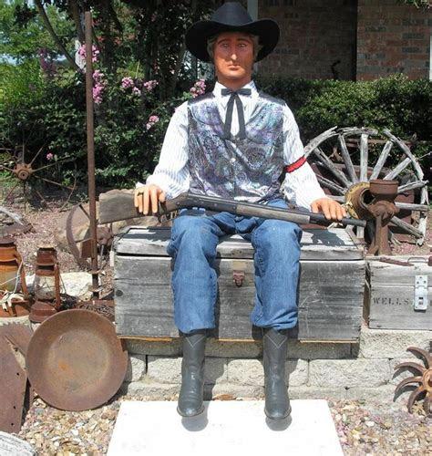 west clothes props lifesize poseable  west cowboy
