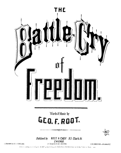 Call To Muster And Battle Cry Of Freedom Lyrics