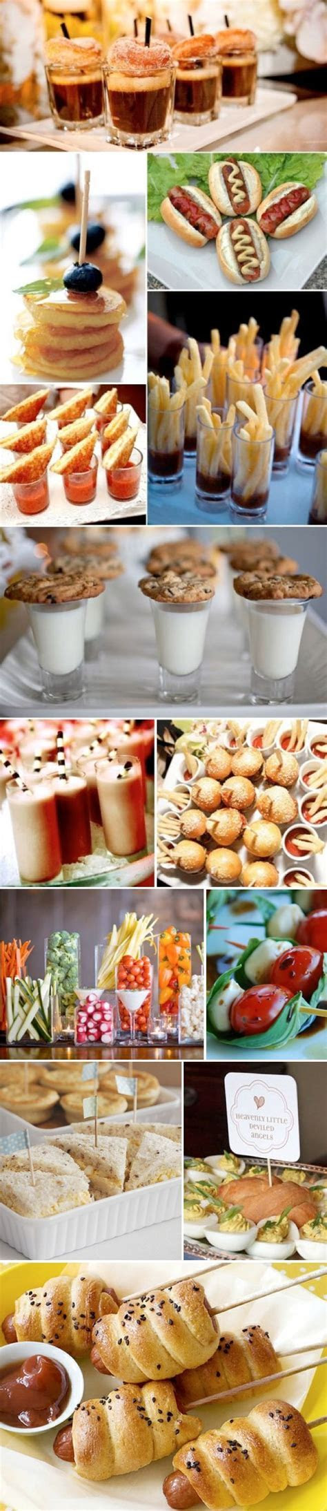 Best 25  Wedding finger foods ideas on Pinterest   Party