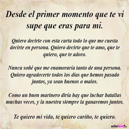 Cartas De Amor De Buenos Dias Para Mi Novia Largos Quotes About N