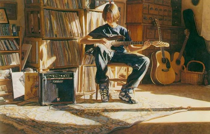 Steve Hanks, aquarelas