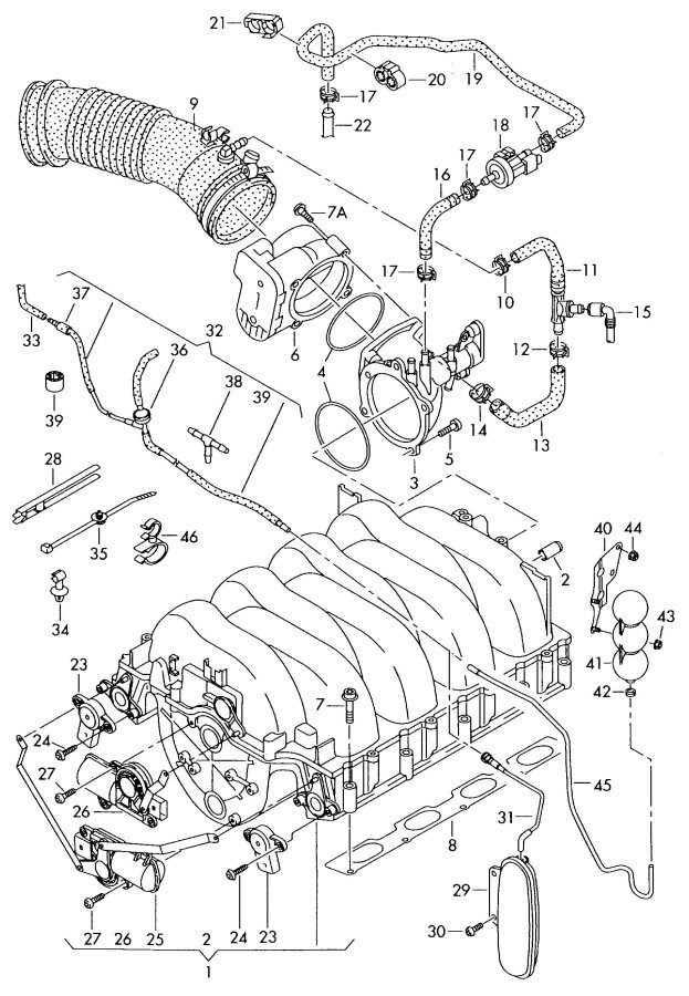 Audi A8 Engine Diagram Wiring Diagrams Post Make Park Make Park Michelegori It