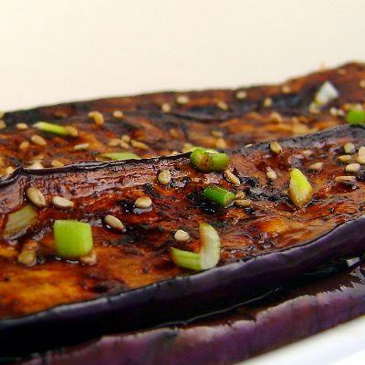 One Perfect Bite: Grilled Asian Eggplant with SoyGinger Glaze