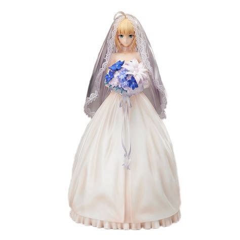 "9.5"" Anime Fate Stay Night Saber Figure Lily10Th"