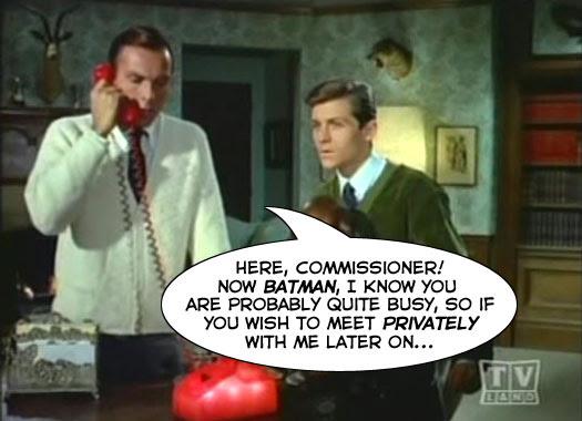 Commissioner Gordon is a Jerk!