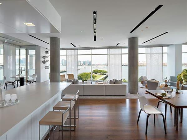 Columns In Interior Design - Decorating Ideas by Sheldon, Mindel