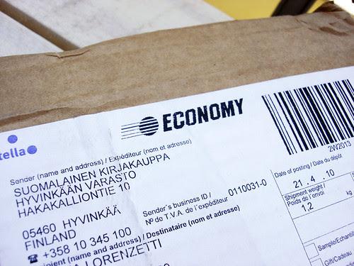 Post aus Finnland