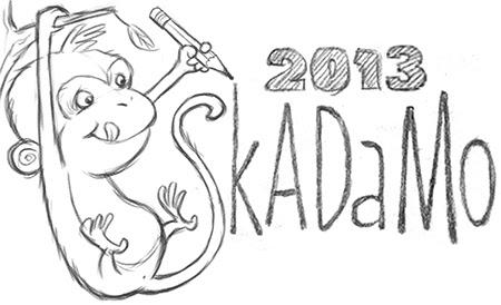 SkADaMo 2013 post monkey