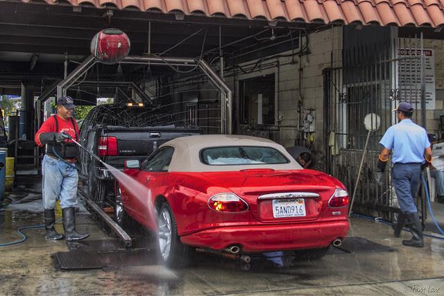 Papa John's Car Wash