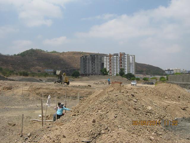 View of Pride Platinum from Reelicon Alpine Ridge, 2 BHK 2.5 BHK 3 BHK Flats, near Pancard Club Baner Pune