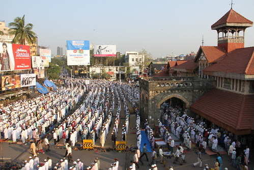 Bakra Eid Namaz At Bandra Station 2012 by firoze shakir photographerno1