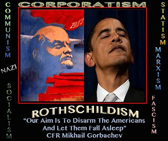 OBAMA COMMUNISM rothschildism