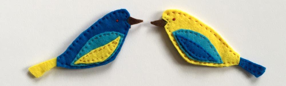 Einfache Vogel Aus Filz Nahen 1 Die Vorlagen Selber Zeichnen Schone Sachen Selbermachen