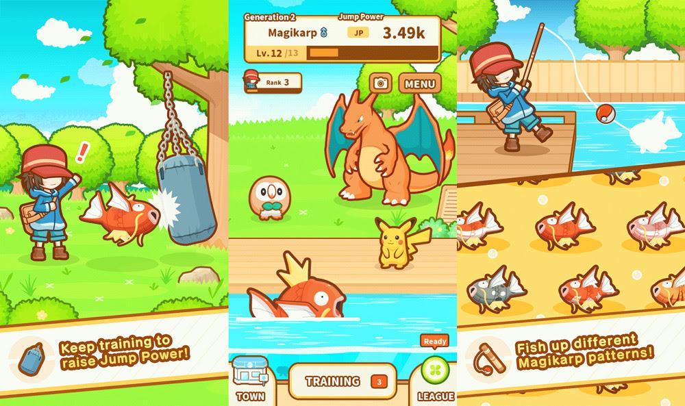 Pokemon: Magikarp Jump is now available screenshot