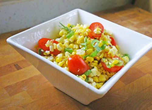 Roasted Corn Salad Bowl