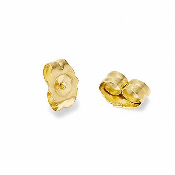 14k Gold Butterfly Earring Backs View All Jewelry Piercing Pagoda