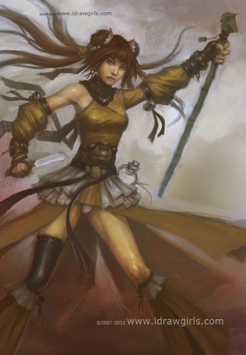 concept art tutorial, character design
