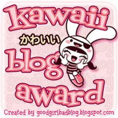 Kawaii blog award