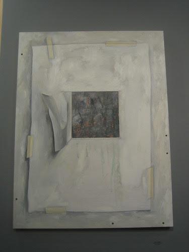 Unfamiliar Places by Donna Mendes, Green - Berkeley Art Center Member Show 2010 _ 9383